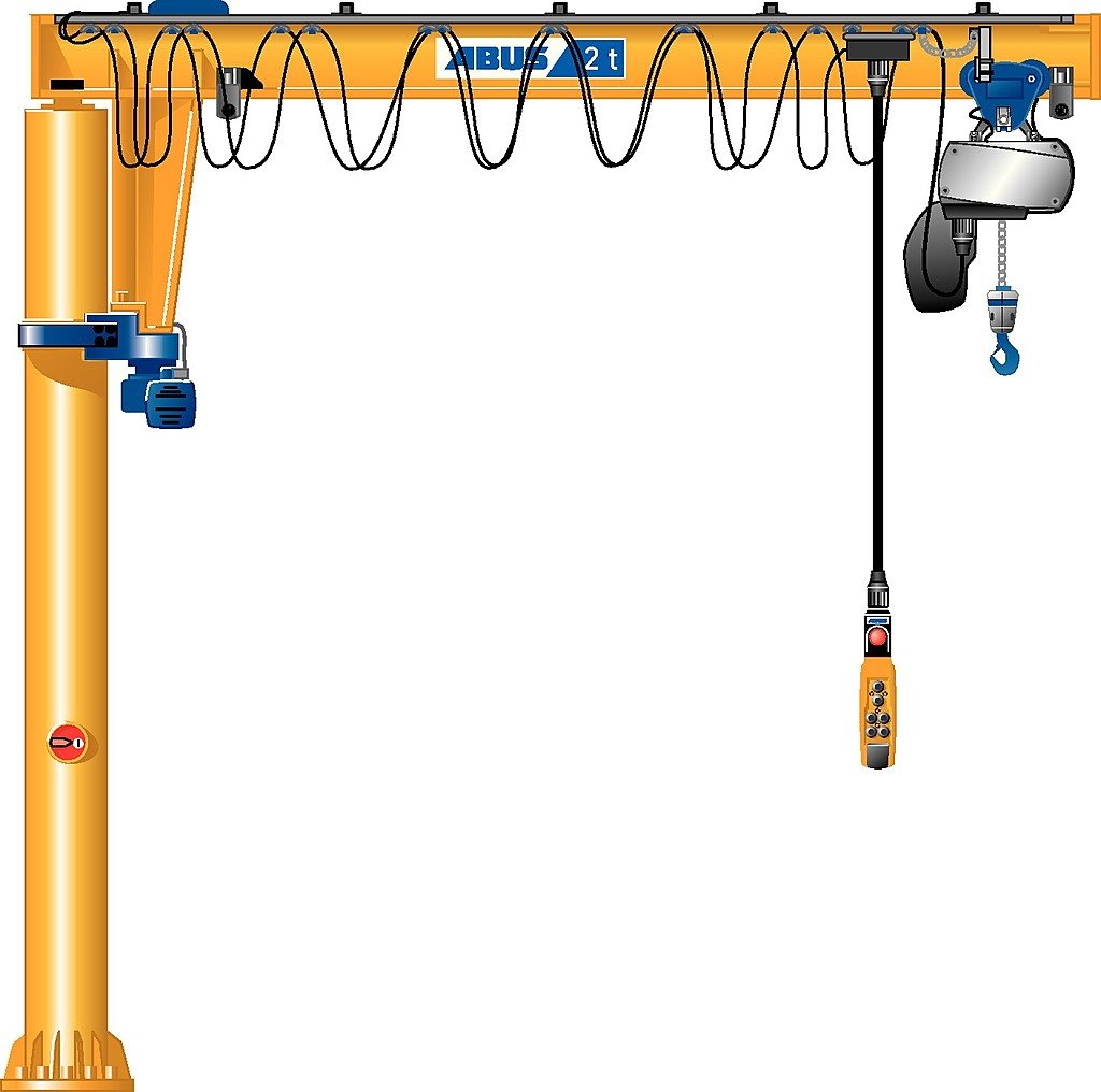 Pillar jib crane VS