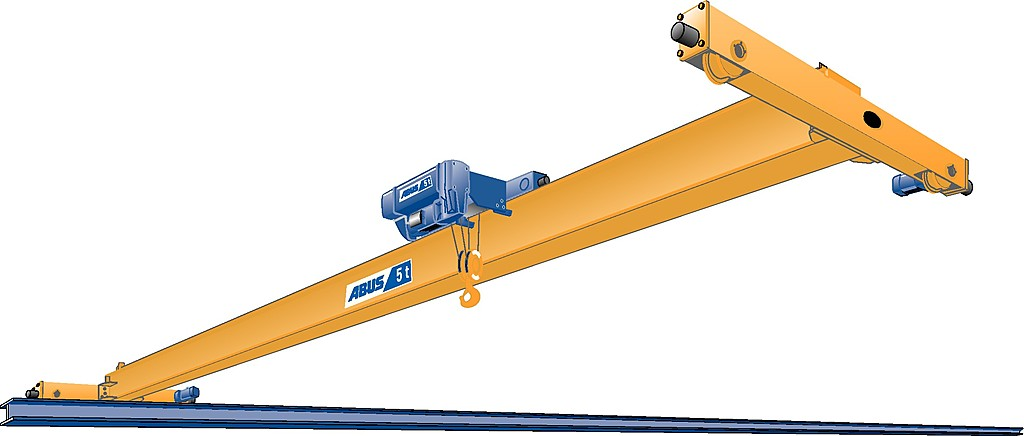 Single girder overhead travelling crane